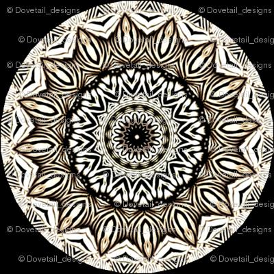 Zesty Zebra Zircles 1