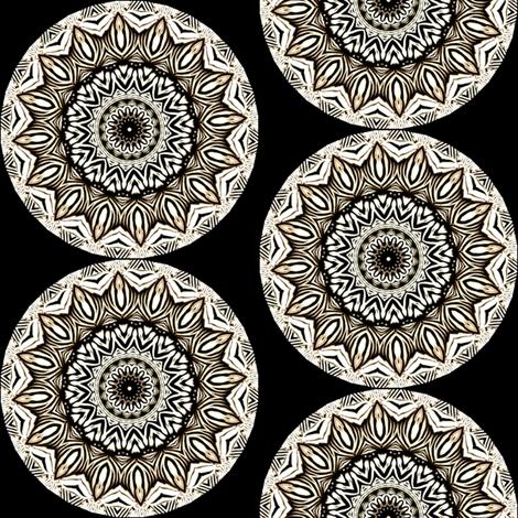 Zesty Zebra Zircles 1 fabric by dovetail_designs on Spoonflower - custom fabric