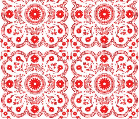 Eiffeltilereblock fabric by bussybuffu on Spoonflower - custom fabric