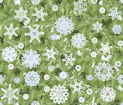 Snowflakes_and_pine_repeat_DA