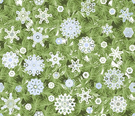 Snowflakes_and_pine_repeat_d_snow_shop_preview