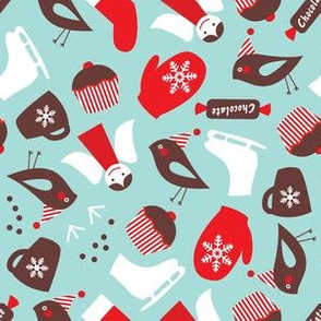 Winter magic pattern
