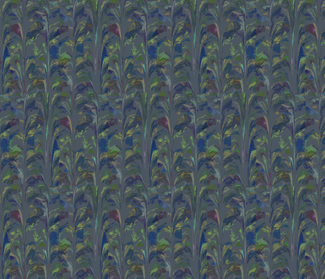 Mare's Tails fabric by anniedeb on Spoonflower - custom fabric