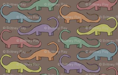 Rainbow Dinosaurs