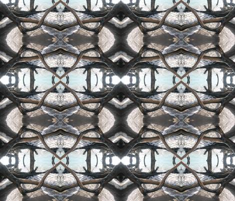 Deep Windows fabric by pog_hog on Spoonflower - custom fabric