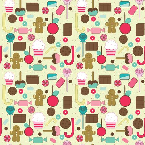 SpoonFlowerSweetTreats12112012 fabric by sbd on Spoonflower - custom fabric