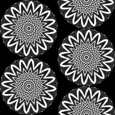Zesty Zebra Zircles 5 fabric by dovetail_designs on Spoonflower - custom fabric