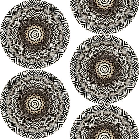 Zesty Zebra Zircles 6 fabric by dovetail_designs on Spoonflower - custom fabric