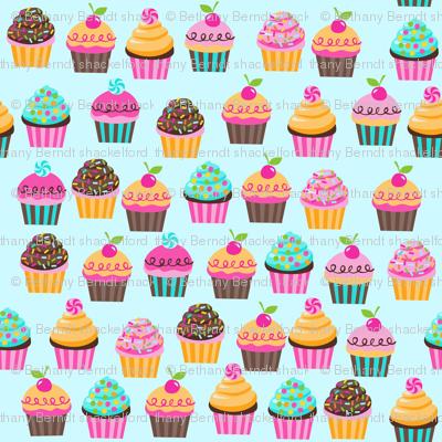 SUGAR RUSH cupcakes