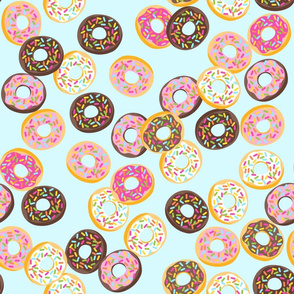 SUGAR RUSH donuts