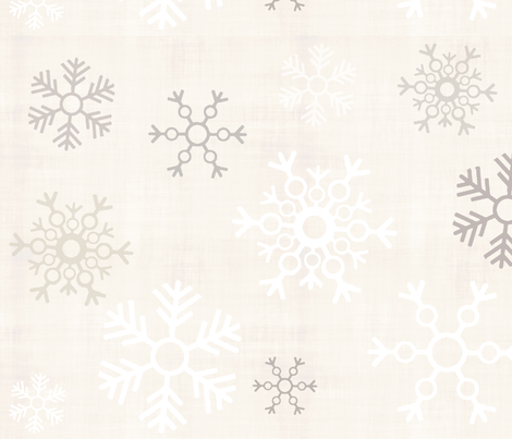 snowflakes-n-glitter fabric by firki on Spoonflower - custom fabric
