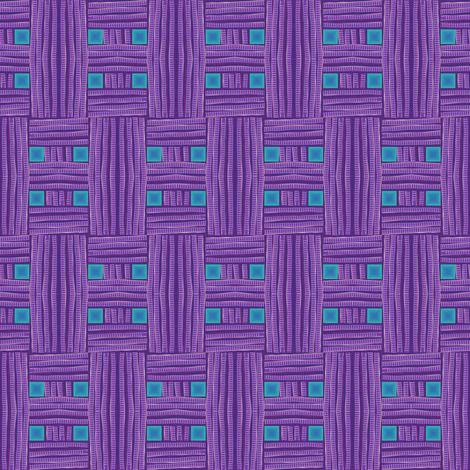 purple mesh fabric by y-knot_designs on Spoonflower - custom fabric