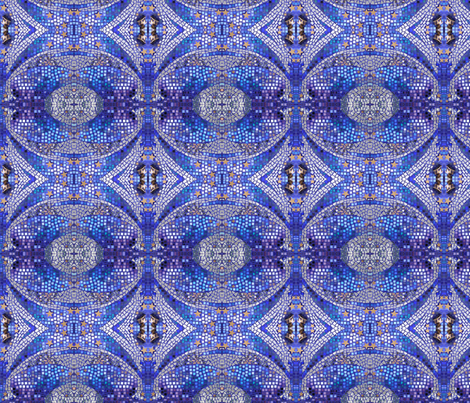 La Nuit fabric by fantastic_fabrics on Spoonflower - custom fabric