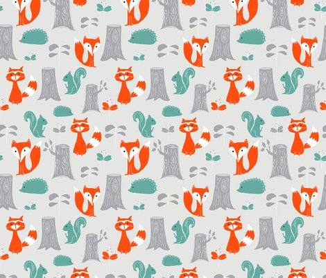 Rwoodland_creatures_scattered_shop_preview