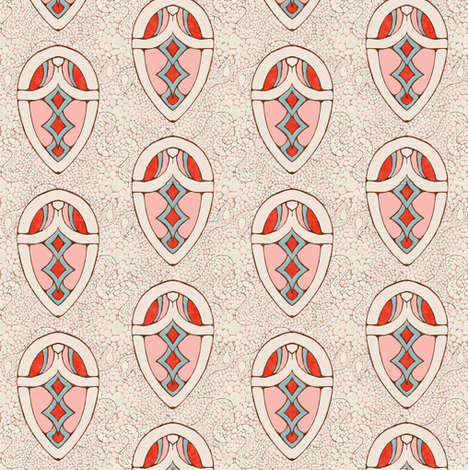 Snake spirit fabric by kirpa on Spoonflower - custom fabric