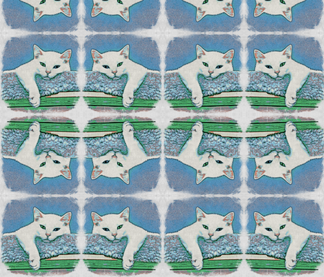 Serenity hangs out #1 fabric by technorican on Spoonflower - custom fabric