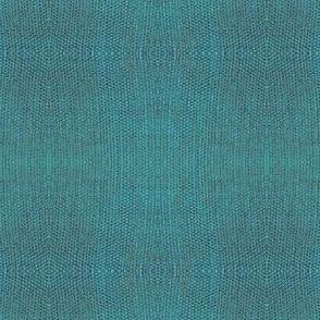 Pueblo Blanket - turquoise - small print