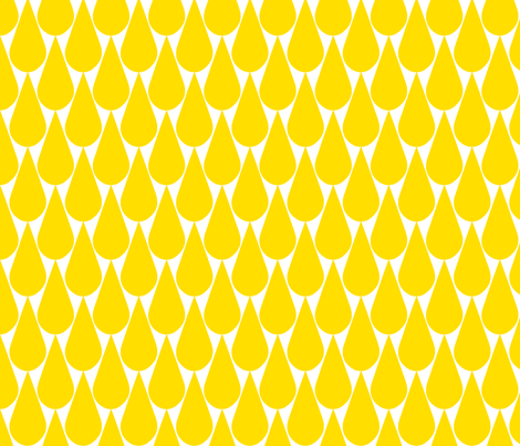 rain_yellow1-ch fabric by pattern_bakery on Spoonflower - custom fabric