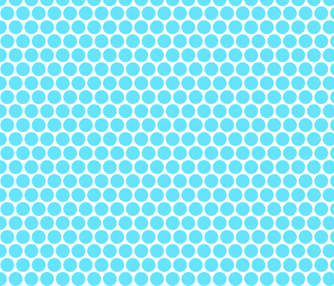 Milledotti (turquoise) fabric by pattern_bakery on Spoonflower - custom fabric