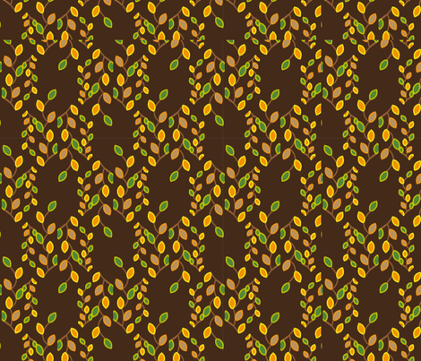 autumn leaves fabric by mehdimashayekhi on Spoonflower - custom fabric