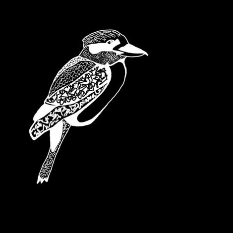 Kookaburra 2 fabric by animotaxis on Spoonflower - custom fabric