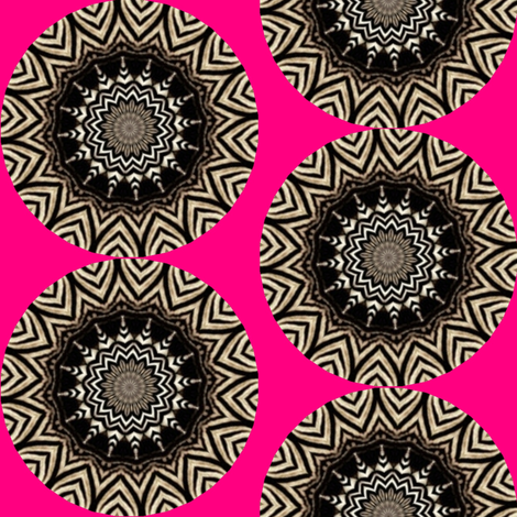 Zesty Zebra Zircles 27 fabric by dovetail_designs on Spoonflower - custom fabric
