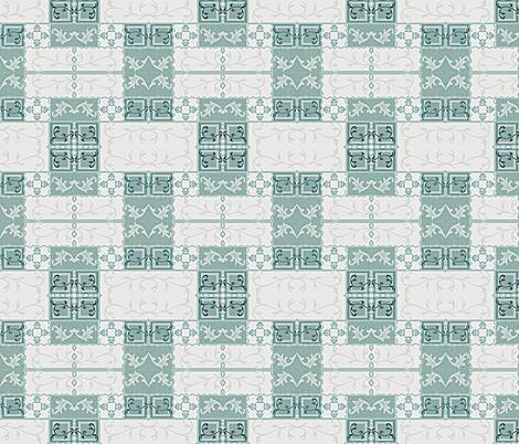 Vine Tiles fabric by robin_rice on Spoonflower - custom fabric