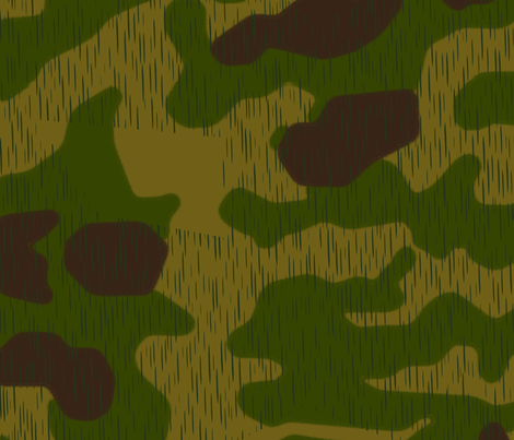 Sumpfmuster 44 Tan & Water Camo, Lighter Colors fabric by ricraynor on Spoonflower - custom fabric