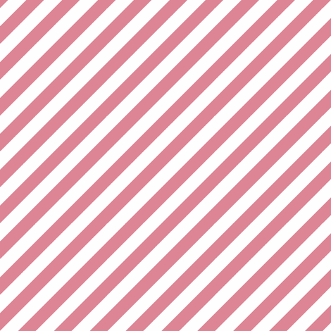 Diagonal Stripe Coral fabric by honey&fitz on Spoonflower - custom fabric