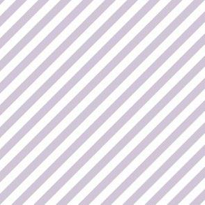 Diagonal Stripe Wisteria
