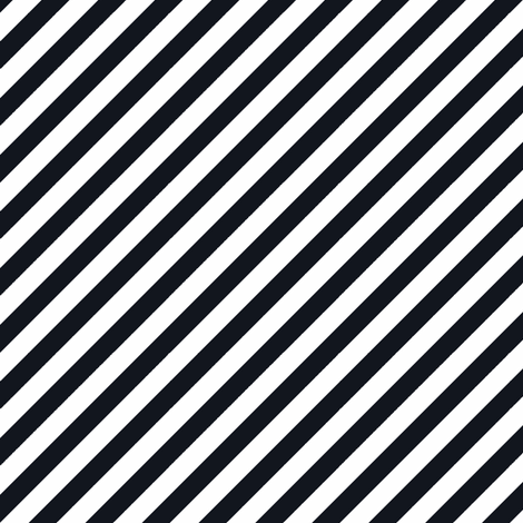 Diagonal Stripe Ebony fabric by honey&fitz on Spoonflower - custom fabric
