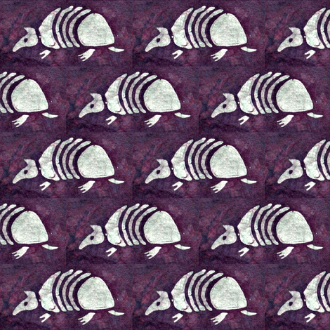 Batik Armadillo fabric by hooeybatiks on Spoonflower - custom fabric