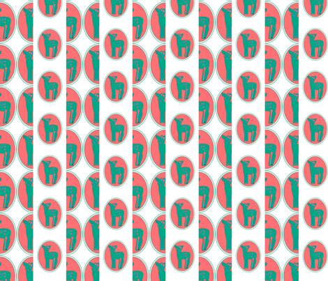 bambi_halfdrop fabric by jamiya on Spoonflower - custom fabric