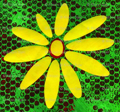 Green & Yellow Daisy