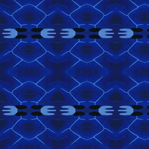 Blue Morpho Butterfly Abstract 2