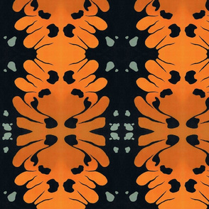 Plain Tiger Butterfly Abstract