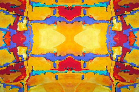Fields of Gold fabric by lfreud on Spoonflower - custom fabric