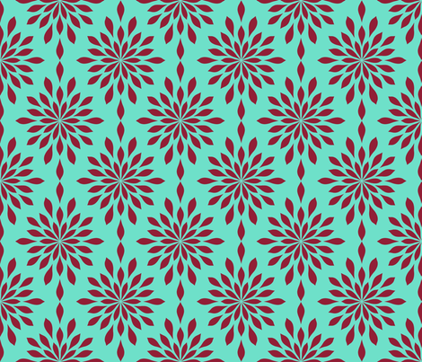 mums the word fabric by keweenawchris on Spoonflower - custom fabric