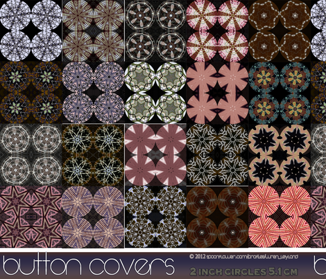 Mauve and Aubergine Button Covers fabric by wren_leyland on Spoonflower - custom fabric
