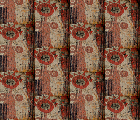 Nurture fabric by whimzwhirled on Spoonflower - custom fabric
