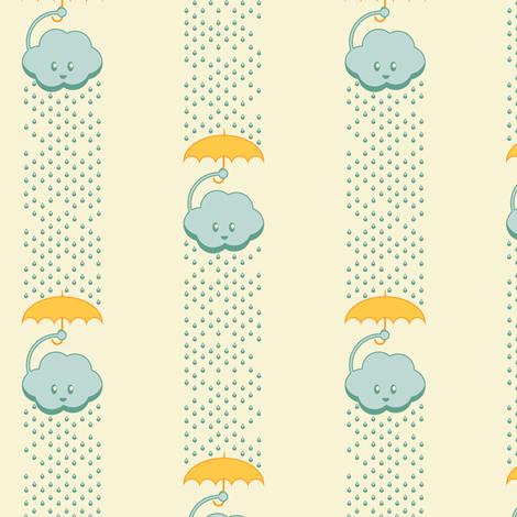 Rainy Day Stripes fabric by taylourbeadling on Spoonflower - custom fabric