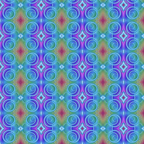 rainbow tracks fabric by y-knot_designs on Spoonflower - custom fabric