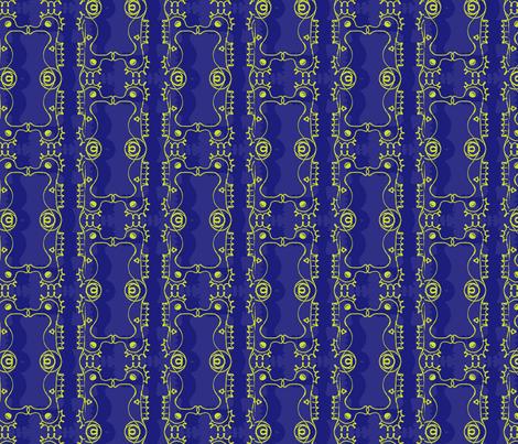 seahorses fabric by pins_x_needles on Spoonflower - custom fabric