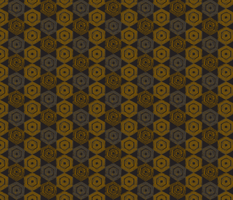 rusty bolts fabric by pins_x_needles on Spoonflower - custom fabric