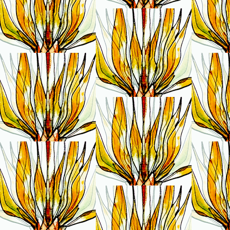 Leaves03v05 fabric by whimsikate on Spoonflower - custom fabric