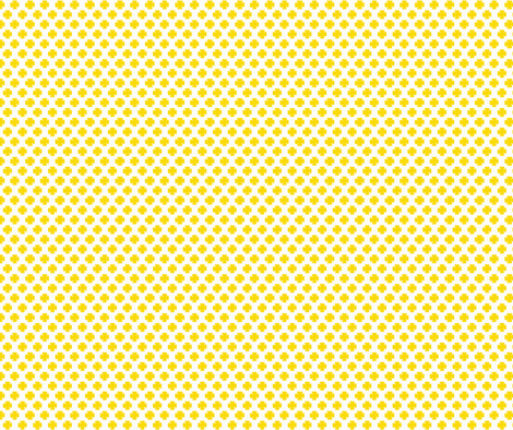 Clover in Sunshine fabric by honey&fitz on Spoonflower - custom fabric
