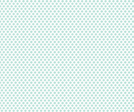 Clover in Minty fabric by honey&fitz on Spoonflower - custom fabric