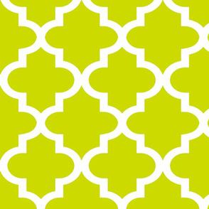 Quatrefoil Lime