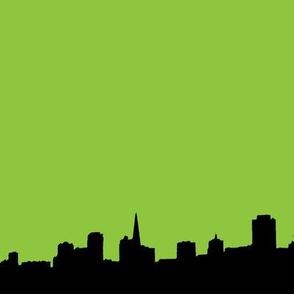 City Scape Lime