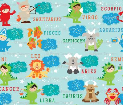 aloha little zodiac